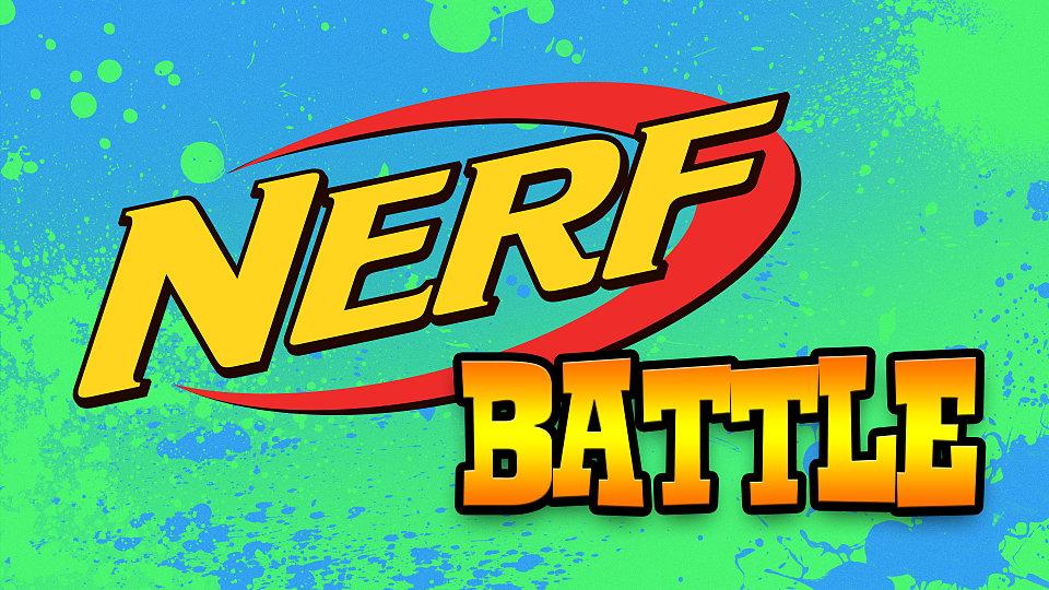 Familie Søndag den 17. februar kl. 14- Nerf Gun Battle