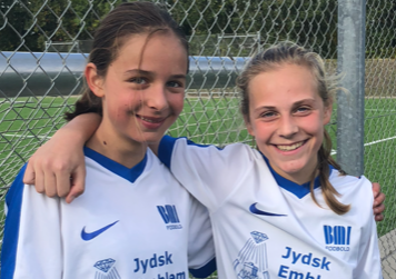 Laura Basu og Sara Skov Kristensen