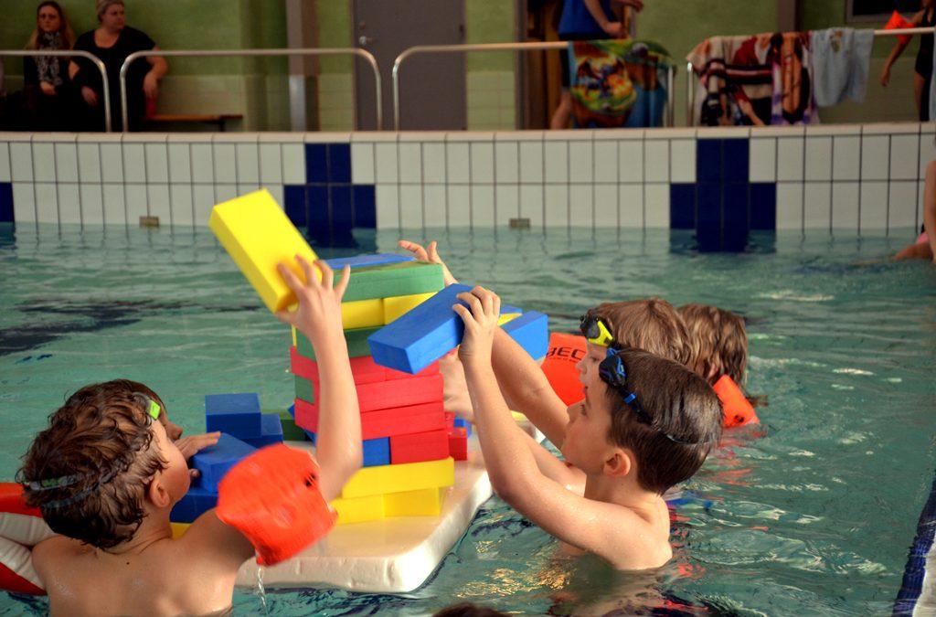 Tag med BMI Svømning til DGI Water Challenge