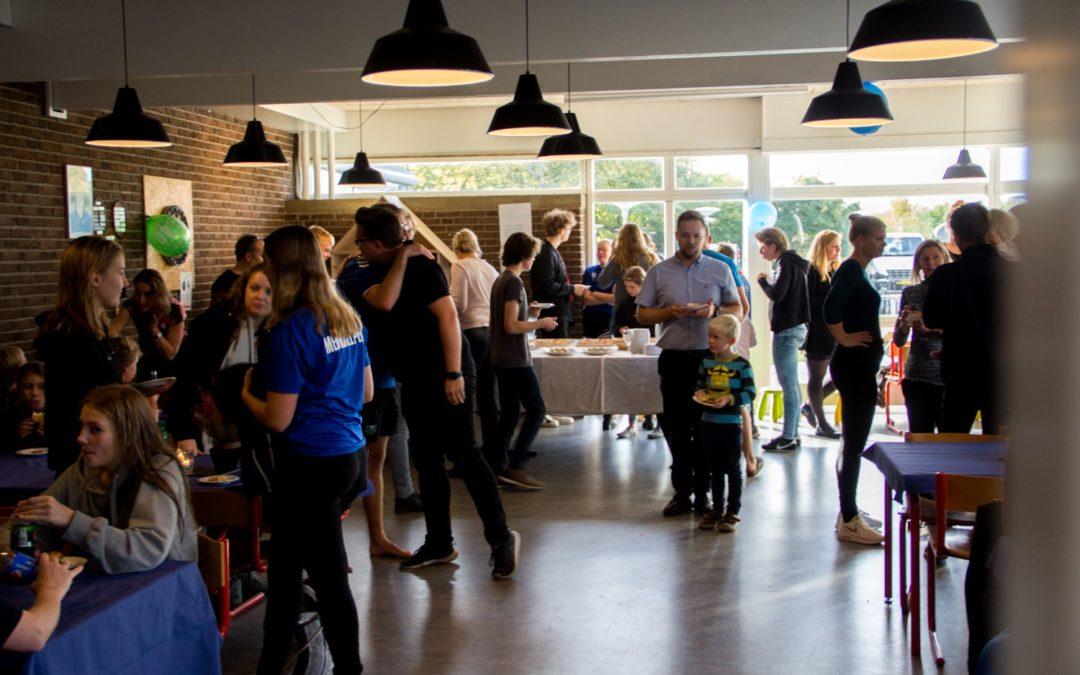 40 års BMI-Svømning blev fejret ved jubilæumsreception i Café Klubånd